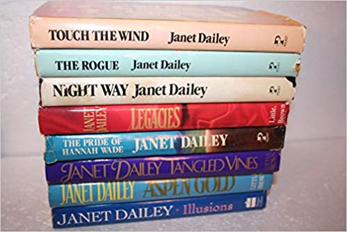 Janet Dailey 8 Title Collection Aspen Gold 1991 Illusions 1997