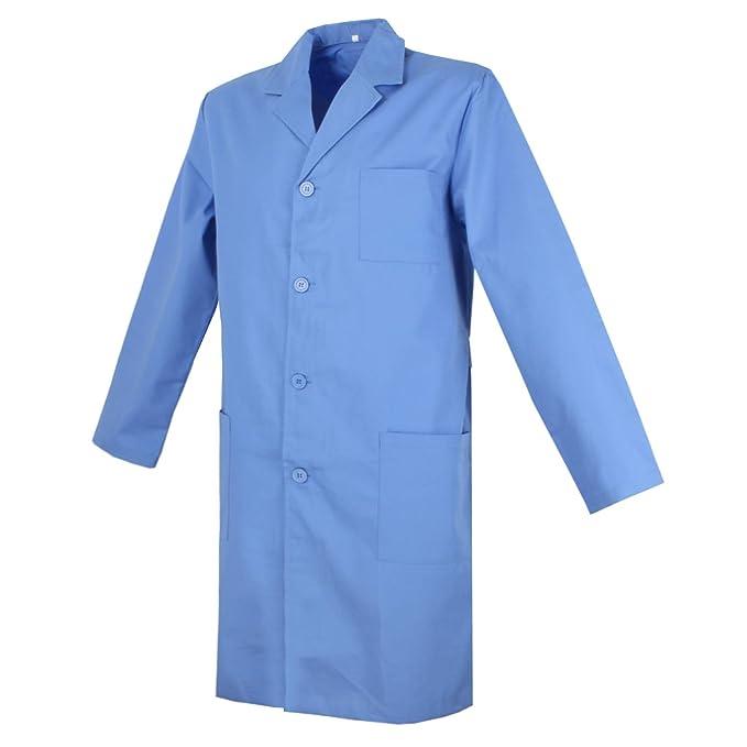 MISEMIYA - Batas Laboratorios Caballero Cuello Solapa Batas MEDICOS Batas Sanitarios Uniformes Sanitarios Uniformes MEDICOS Ropa Sanitarios Ref:816: ...