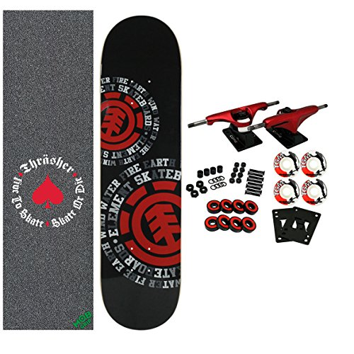 ELEMENT x THRASHER Skateboard Complete Dispersion 7.75