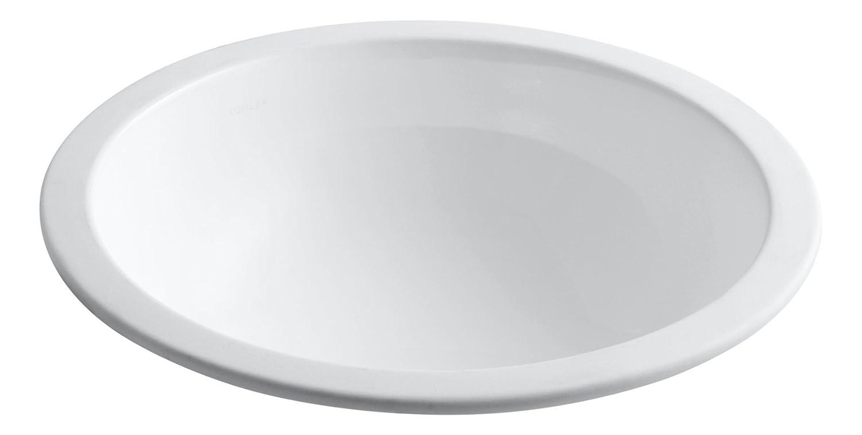 KOHLER K 2349 0 Camber Undercounter Bathroom Sink White Bathroom