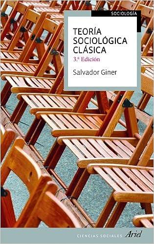 Book TEORIA SOCIOLOGICA CLASICA