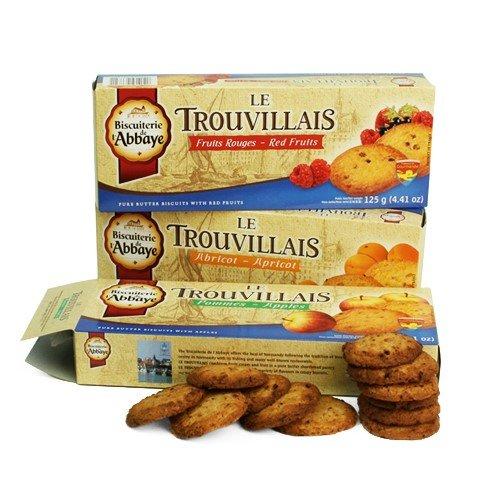 Trouvillais by Biscuiterie de l'Abbaye - Lemon and Almonds (4.2 ounce)
