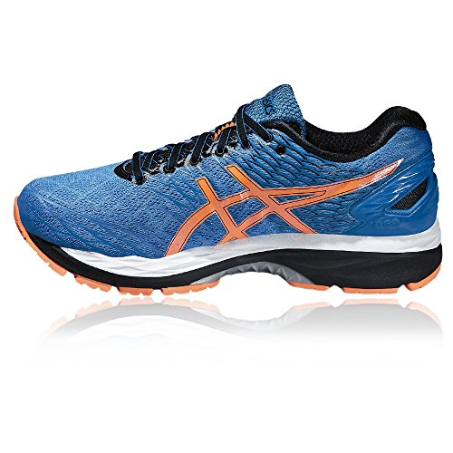 the best attitude c3309 b554d ... Asics Gel Nimbus 18 - Zapatillas de Running, Unisex Azul ...