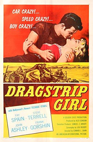 DRAGSTRIP GIRL (1957) One sheet poster