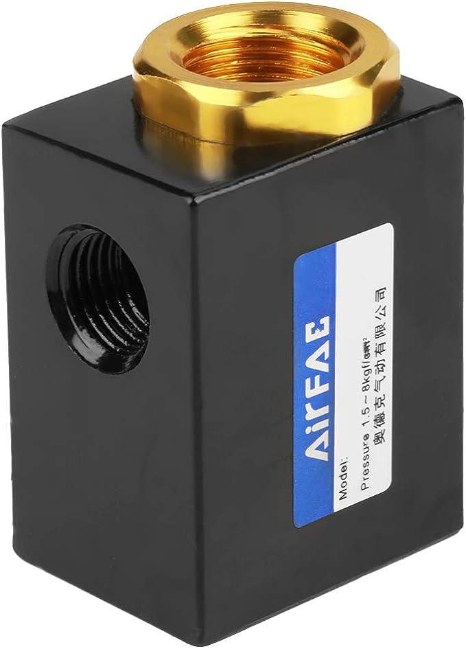 1 4 Schnellauslassventil Mit Aluminiumlegierung Durable Schnellauslassventil Pneumatische Luftstrom Br Auto