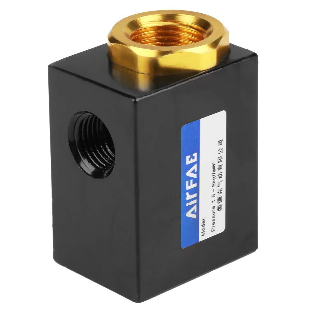 Durable Schnellauslassventil Pneumatische Luftstrom 1//4Schnellauslassventil mit Aluminiumlegierung