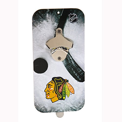 NHL Clink-N-Drink Magnetic Bottle Opener - Chicago ()