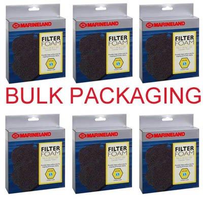 (MarineLand Canister Filter C-160 & C-220 Filter Foam, Rite-Size S Bulk Twelve Pack)