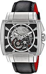 DETOMASO Men's METAURO XXL Automatic Trend schwarz/schwarz Analog Display Japanese Automatic Black Watch