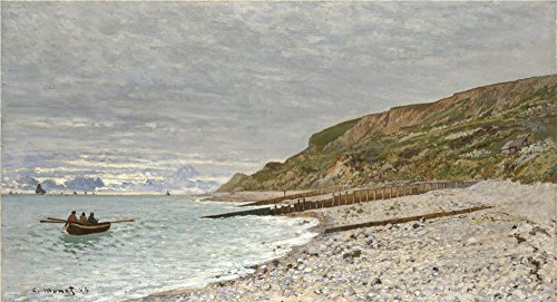 Brass Eagle Barrels (Perfect Effect Canvas ,the High Definition Art Decorative Prints On Canvas Of Oil Painting 'Claude Oscar Monet La Pointe De La Hve Sainte Adresse ', 10 X 18 Inch / 25 X 47 Cm Is Best For Wall Art Gallery Art And Home Artwork And Gifts)