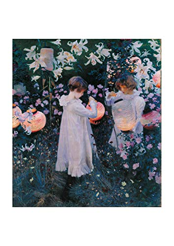 Spiffing Prints John Singer Sargent - Carnation Lily Lily Rose - Small - Semi Gloss - Unframed