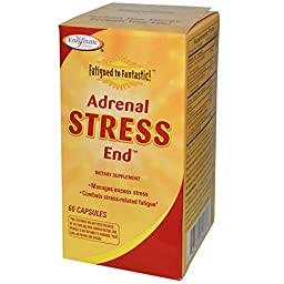 Enzymatic Therapy, Fatigued to Fantastic!, Adrenal Stress End, 60 Capsules - 2PC
