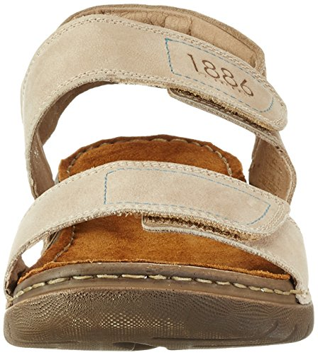 Josef Seibel Jim 05, Men's Open Toe Sandals Beige (Beige-kombi)