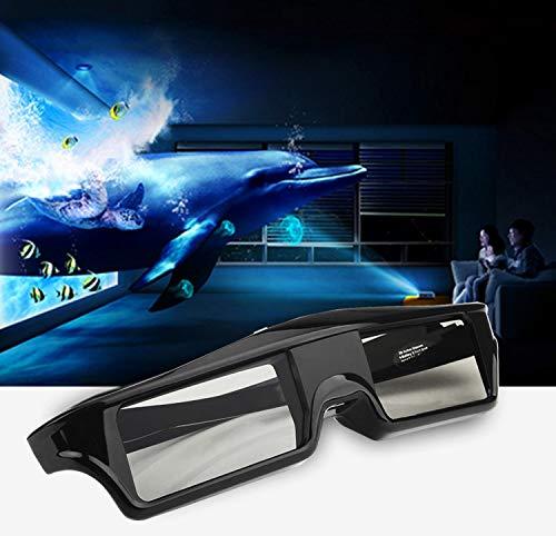 2pcs Bluetooth 3D Active Shutter Glasses for Sony Samsung Panasonic TV TDG-BT500A TDG-BT400A Epson Projector RF 3D Glasses
