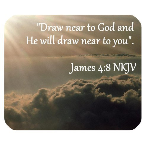 Amazon Com Customized Christian Bible Verse Draw Near To God And