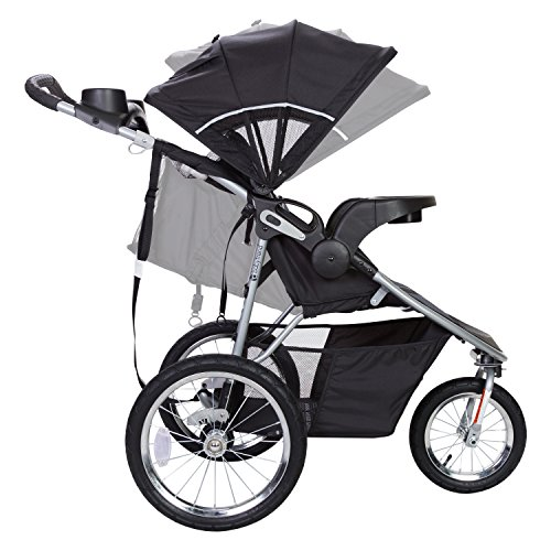 51q1J4C4AwL - Baby Trend Pathway 35 Jogger Travel System, Optic Grey