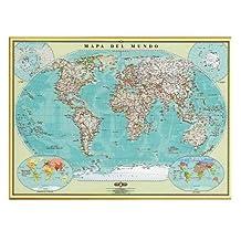 Mapa Del Mundo (Spanish Edition)