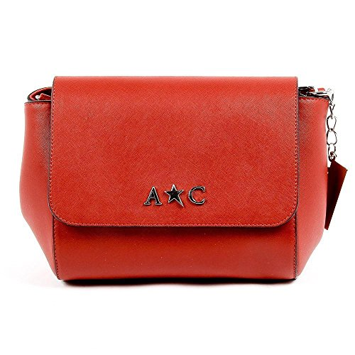 Red ONE SIZE Andrew Charles Womens Handbag Red - Stores Mall Outlet Vero