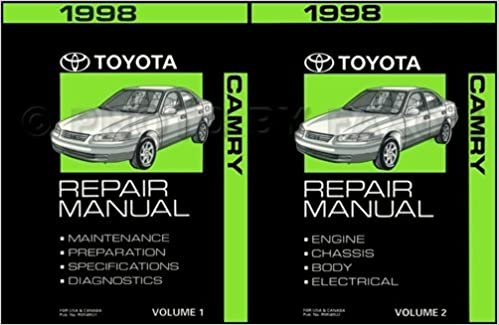 1998 toyota camry repair manual 2 volumes o e m toyota repair 1998 toyota camry repair manual 2 volumes o e m toyota repair manuals volumes i and ii toyota amazon books fandeluxe Gallery