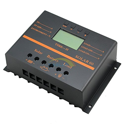 Y-SOLAR 60A Solar Battery Regulator Charge Controller with 12V 24V auto 5V USB Output by Y-SOLAR (Image #7)