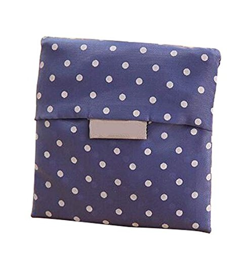 star1 Bag Shopper Bags Tote Dot wiBille Blue Foldable Reusable Shopping Blue Eco wqZzHU