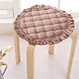 JONARO 1 pcs Flannel Round Dining Chair Cushions Floor Cushion Seat Mat Pad Chair Cushions Sofa Mat Home Decora