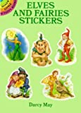 img - for Elves and Fairies Stickers (Dover Stickers) by Darcy May (1993) Paperback book / textbook / text book