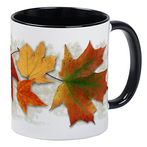 CafePress - Maple Leaves In Autumn - Unique Coffee Mug, Coffee Cup
