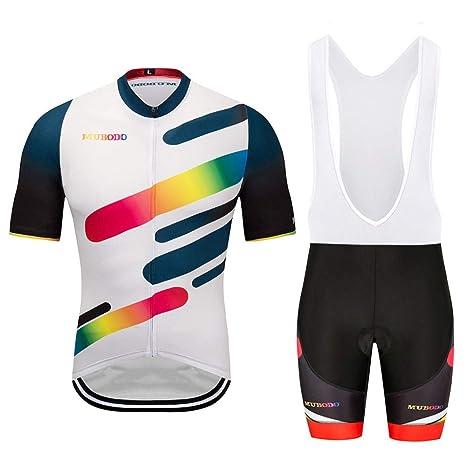 Traje Ciclismo Hombre Ciclismo Maillot y Culotte Ciclismo ...