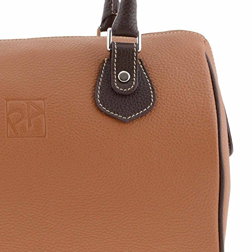 Black Bowling Bag Paula Leather Style Alonso HBnwST