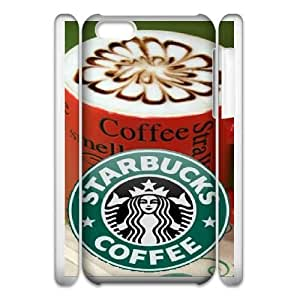 iphone6 4.7 3D Cell Phone Case White Starbucks Plastic Durable Cover Cases derf6996806