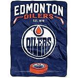 "Officially Licensed NHL ""Inspired"" Plush Raschel Throw Blanket, 60"" x 80"""