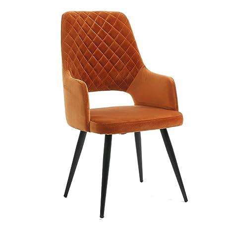 Nordic Dining Chair, Patas de Metal, butaca/Silla de café ...
