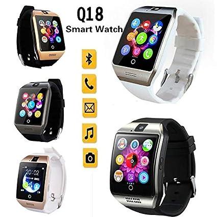 Amazon.com: MTOFAGF Smart Watch Q18 Camera Watch Facebook ...