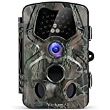 """Victure Trail Game Camera 1080P 12MP Wildlife Hunting Camera with 120 ° Wide Angle, 20m Night Vision Infrared, IP66 Waterproof Design, 2.4"""" LCD Display for Wildlife Surveillance and Home Security"""