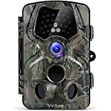 【Upgraded】 Victure Trail Game Camera 1080P 12MP Wildlife Hunting Camera 120 ° Wide Angle, 20m Night Vision Infrared, IP66 Waterproof Design, 2.4 LCD Display Wildlife Surveillance