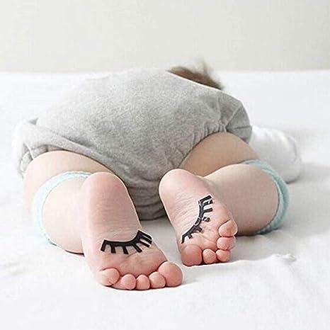 Nuluxi Kinder Unisex Krabbelschoner Stulpen Unisex Krabbeln Knieschoner Kniesch/ützer Sicherheit Schutz Anti-Rutsch Knieschoner f/ür Baby Krabbelschoner Krabbelhilfe Kniesch/ützer 0-2 Jahre alt 5 Paare