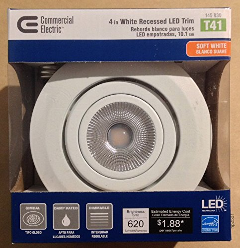 Commercial Electric 4 Led Recessed Lights in Florida - 4