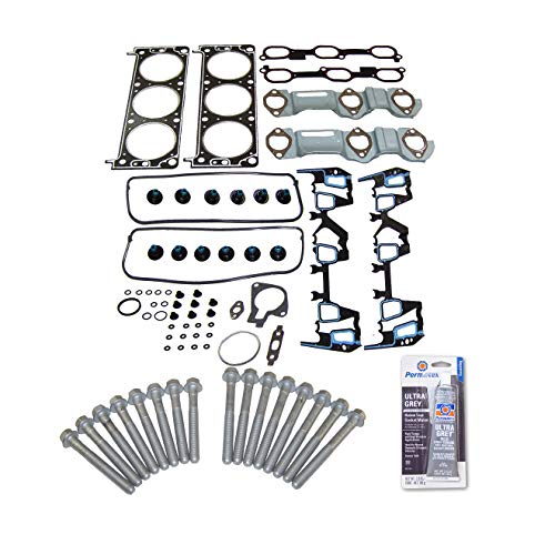 - Head Gasket Set Bolt Kit Fits: 00-03 GM Alero Grand Am Monte Carlo 3.4L V6 OHV 12v