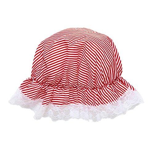 NET TOYS Berrettino medievale berretto rosso e bianco cappello da letto  divano cameriera cappellino nonna tisana Magdhaube  Amazon.it  Giochi e  giocattoli 08a462c5746f