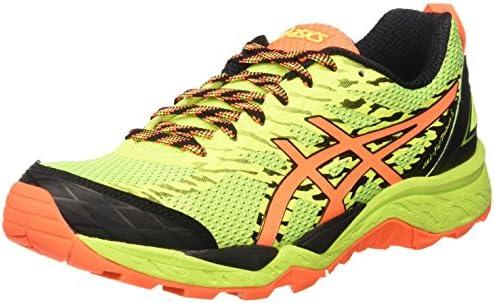 Asics Gel-Fujitrabuco 5, Zapatillas de Deporte para Hombre, Amarillo (Safety Yellow/Shocking Orange/Black), 48 EU: Amazon.es: Zapatos y complementos