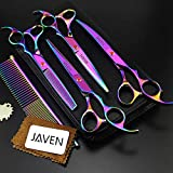 Best Dog Thinning Shears - JAVEN Professional Dog Grooming Scissors Kit,Pet Grooming Scissors Review