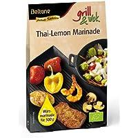 Beltane grill&wok Thai-Lemon Marinade für 500 g Fleisch, Gemüse oder Fisch, 5er Pack (5 x 50 g) - Bio