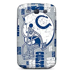 Tpu Case Cover Compatible For Galaxy S3/ Hot Case/ Indianapolis Colts