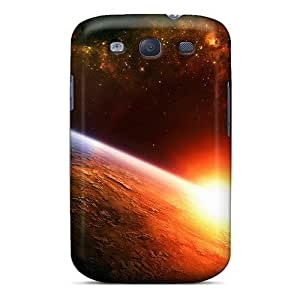 Galaxy S3 Case Slim [ultra Fit] Hd World Protective Case Cover by icecream design