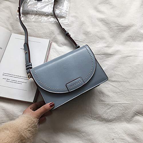 Épaule Femme Mode Décontracté Simple Carré Sac À Bandoulière Petit Sauvage Bleu Xmy aYR5w8qX
