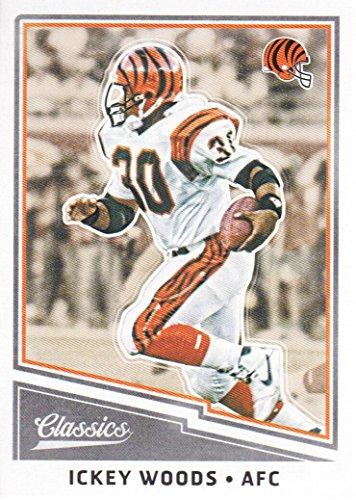 2017 Panini Classics Football #144 Ickey Woods Cincinnati Bengals Cincinnati Bengals Classic Football