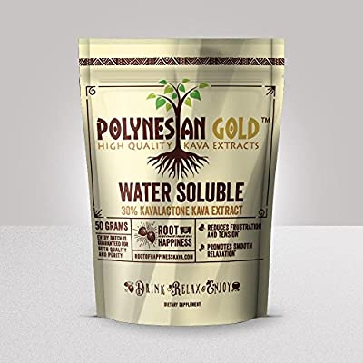 Polynesian Gold™ Water Soluble Kava Extract- 50g Bag
