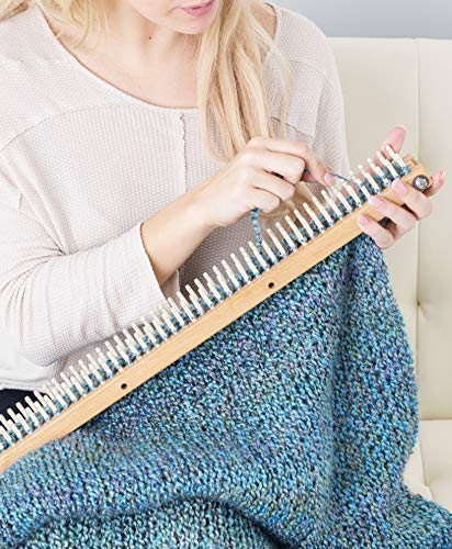 Authentic Knitting Board with Peg Extenders, 28-Inch by Authentic Knitting Board (Image #5)