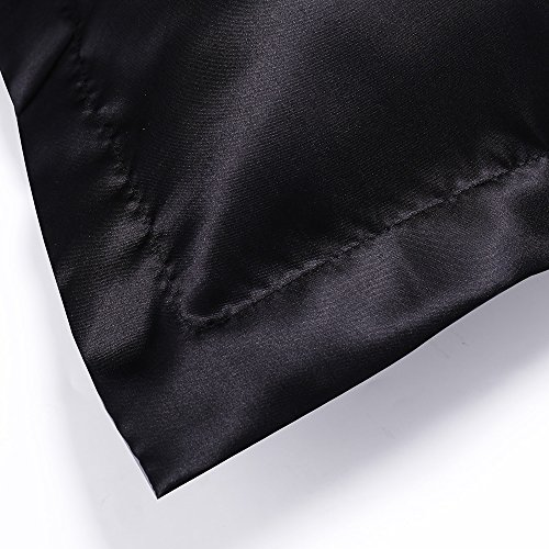 Satin Pillowcase Prevent Hair Loss: Everso Pair Of 100% Satin Silk Pillowcases For Hair And